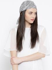 Vero Moda Off-White Printed Multipurpose Headwear