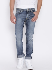 Pepe Jeans Blue Washed Vapour Fit Jeans