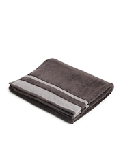 SPACES Chocolate Brown 100% Hollow-Core Hygro Cotton Bath Towel