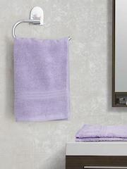 SPACES Lavender 100% Nano Spun Cotton Set of 2 Hand Towels