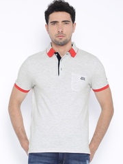 Being Human Clothing Off-White Polo T-shirt