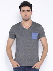 Being Human Clothing Navy & Grey T-shirt