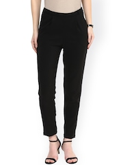 RARE Black Relaxed Fit Trousers