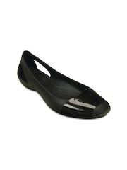 Crocs Women Black Flat Shoes