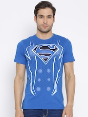 Superman Blue Printed T-shirt