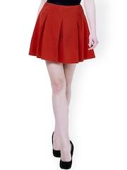 FabAlley Red Skater Skirt