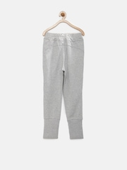 PUMA Girls Grey Slim Joggers