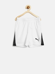 PUMA Boys White BTS Shorts