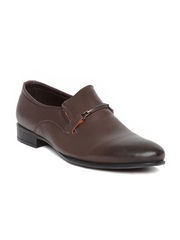 Numero Uno Men Coffee Brown Leather Formal Shoes