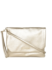 Caprese Gold-Toned Sling Bag