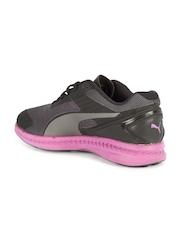 PUMA Women Grey & Black IGNITE v2 Running Shoes