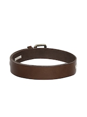 Lee Men Brown Genuine Leather Belt