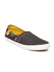 Levi's Men Grey Printed Loafers