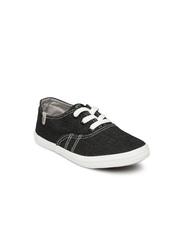 Boltio Girls Black Casual Shoes