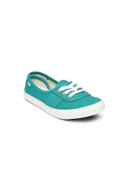 Boltio Girls Teal Blue Canvas Shoes