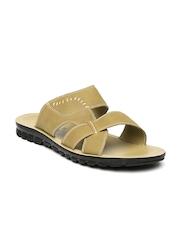 Franco Leone Men Tan Brown Sandals