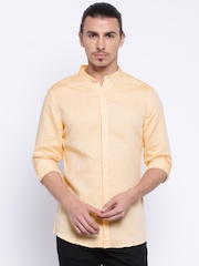 United Colors of Benetton Peach-Coloured Casual Shirt