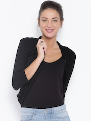 Honey By Pantaloons Black Shrug