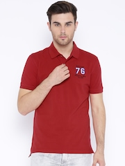 John Players Red Polo T-shirt