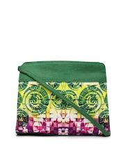 Kanvas Katha Multicoloured Printed Sling Bag