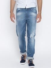 American Swan Blue Washed Slim Jeans