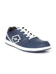 Lotto Men Navy Logo Plus III Casual Shoes