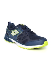 Lotto Men Navy Santiago II Running Shoes