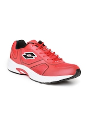 Lotto Men Red Maiorca III Running Shoes