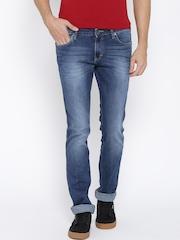 Wrangler Blue Skanders Fit Jeans