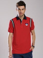 Tommy Hilfiger Red Classic Fit Polo T-shirt