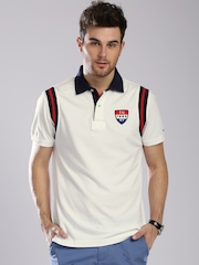 Tommy Hilfiger White Classic Fit Polo T-shirt