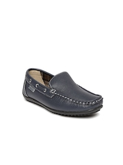 Kittens Boys Navy Loafers
