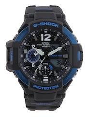 CASIO G-Shock Chronograph Men Black Analogue & Digital Watch G639