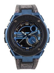 CASIO G-Shock Men Chronograph Blue & Black Analogue & Digital Watch G641
