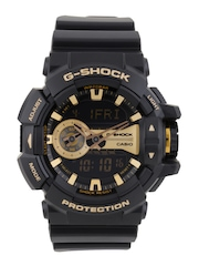 CASIO G-Shock Men Chronograph Black Analogue & Digital Watch G651