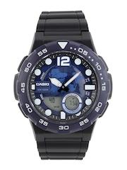 CASIO Youth Series Men Blue Analogue & Digital Watch AD205