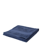 Portico New York Blue 100% Cotton Bath Towel