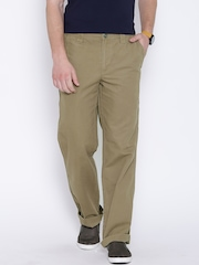Columbia Beige Ultimate ROC Modern Classic Fit Casual Trousers