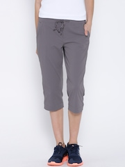 Columbia Taupe Anytime Outdoor Active Fit Capris