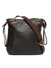 Hidesign Brown Leather Sling Bag