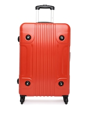 Tommy Hilfiger Unisex Red Large Trolley Suitcase