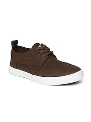 Roadster Men Brown Canvas Shoes