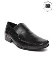 Red Tape Men Black Genuine Leather Formal Shoes