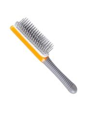 Kent Unisex Grey & Orange Hair Brush