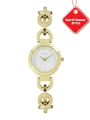 DKNY Women Silver-Toned Dial Watch NY2134I