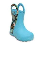 Crocs Boys Blue Boots