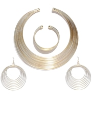 ToniQ Gold-Toned Jewellery Set