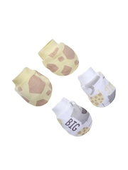 mothercare Kids Pack of 2 Printed Mittens