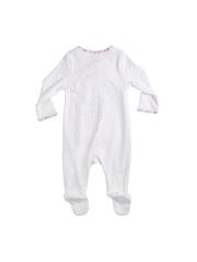 mothercare Girls White Printed Bodysuit