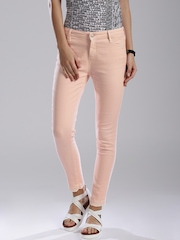 GAS Pink Skinny Fit Jeans